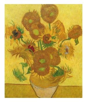 Vincent van gogh curiosit e arte di un grande pittore for Girasoli di van gogh da colorare