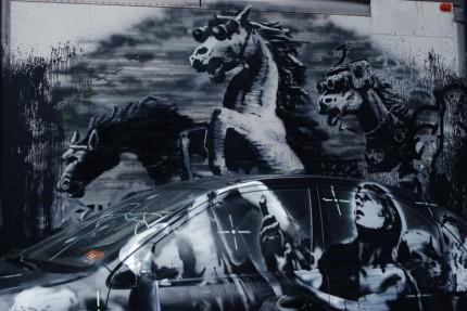 banksy,street art,pittura,stencil