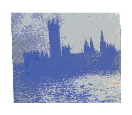 Claude Monet Il Parlamento effetto della luce del sole 1900-1901.JPG