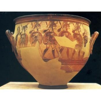 L' Arte Micenea – il vaso dei Guerrieri e la maschera di Agamennone