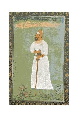 Arte Islamica Ritratto del Sultano Ibrahim Adil Sah.JPG