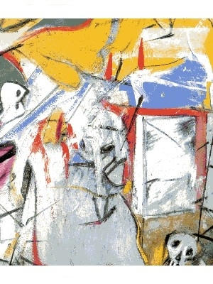 Arte sec novecento Willem Kooning Astrazione.jpg