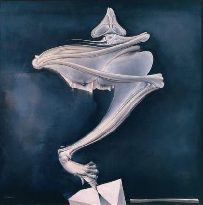 hans bellmer, la trottola, pittura, pittura del novecento, arte, surrealismo