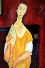 Amedeo Modigliani Donna con ventaglio.jpg