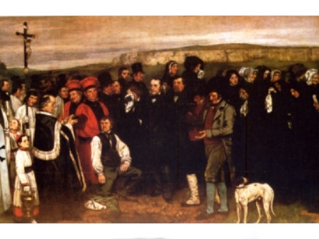 Funerale a Ornans Gustave Courbet del 1849.JPG