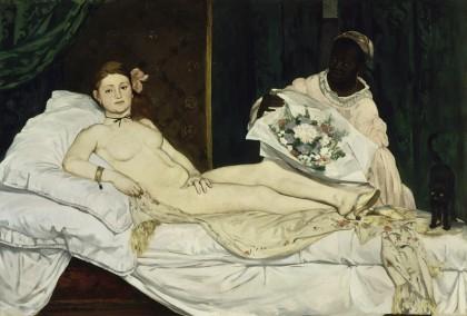 edouard manet,mostre di arte,olimpia,pittura,palazzo ducale di venezia,impressionismo