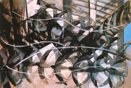 volo di rondini,giacomo balla,futurismo,arte del novecento,artisti,opere d' arte,pittura