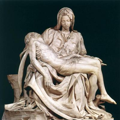 pietà di michelangelo, arte, scultura, michelangelo buonarroti, arte del cinquecento, marmo di carrara