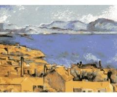 Il golfo di Marsiglia Paul Cézanne illustrazione.JPG
