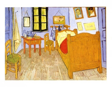 La camera da letto di vincent van gogh descriviamo con - Camera da letto di van gogh ...