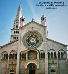 Duomo di Modena-arte romanica ridotta particolare della facciata.jpg