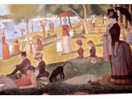 Georges Seraut Domenica pomeriggio all' isola della Grande Jatte del 1884-1886 Puntinismo.JPG