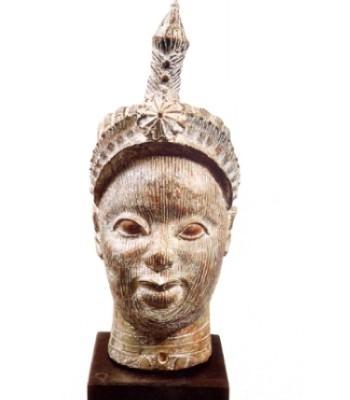 Arte Africana - testa africana.JPG