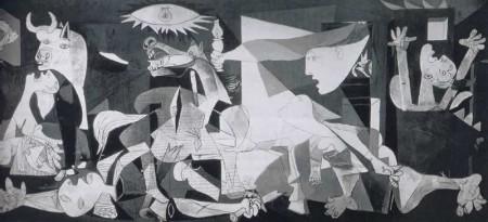 arte - grandi maestri, pablo picasso, guernica, pittura del novecento, cubismo, pittura, arte del novecento, violenza, guerre