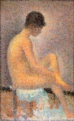 georges seurat,le modelle,studi sulle modelle,puntinismo,pittura dell'ottocento,tecniche artistiche,pittura,opere d' arte